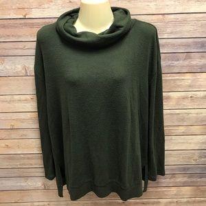 { Sonoma } green super soft long sleeve sweater